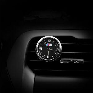 مضيئة على مدار الساعة سيارة الحلي السيارات ووتش فتحات الهواء المخرج كليب البسيطة الديكور السيارات لوحة عرض الوقت على مدار الساعة لBMW بنز أودي فولكس فاجن