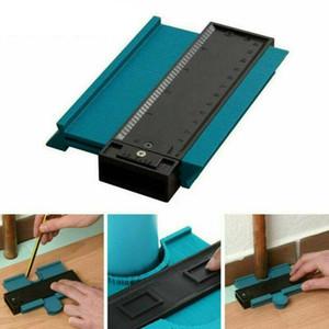 Medidor de plástico Contour Perfil Cópia calibre Duplicator Padrão 5 Largura de madeira Marcação Ferramentas Ferramenta Tiling Laminado telhas Gerais