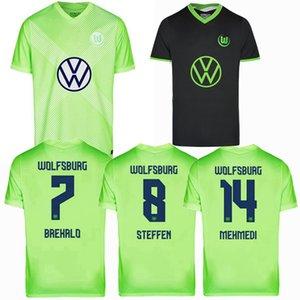 2020 2021 VfL Wolfsburg Soccer Jerseys WEGHORST BREKALO GINCZEK ROUSSILLON 20 21 football shirt S-2XL