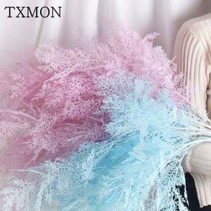 TXMON Charme 6 filiali smog piante finte artificiale fiore decorazione della casa fiori di simulazione del paesaggio matrimonio nebbia phoenix