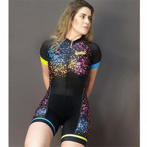 Xama extérieur trifonction triathlon sports d'été porter salopette trajes Ciclismo Go Pro skinsuit vélo VTT Cycle skinsuit vêtements bTdk #