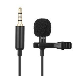 1,5 метра мини 13,5 мм гнезда микрофон Lavalier галстук-клип микрофоны микрофоно микрофоновый микрофон проводной микрофон / микрофон для телефона для ноутбука