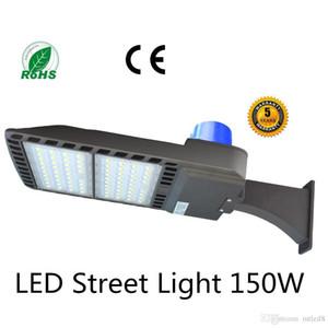 450W-600W Metal Halide Eşdeğer 150W LED Otoparkı Işık, 5500K 110V-277V Girdi, LED sokak lambası, ABD Depo (Fit 150W Kayma)