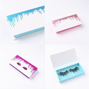 A Pair Of Eyelash Boxes Quicksands Box High Grade Case Simple Hygiene Foldable Not Easy Break Cosmetic Packagings 5ad E2