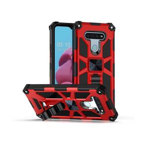 Per LG Aristo 5 per LG K51 Stylo 6 per LG Harmony 4 ibrida armatura invisibile Kickstand magnetico del telefono di caso antiurto copertura D1