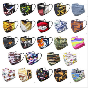 2020 new   3 layer dust masks men and women fashion breathable personality custom Upscale face mask boys