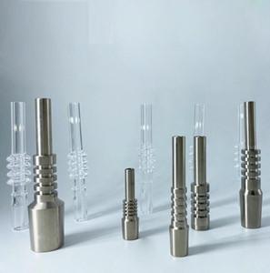 Replaceable pointe de pointe en titane de 10 mm 14 mm de 18 mm pour Micro NC Kit Honeybird concentré de paille Dab Rigs Smokinig Accessoires