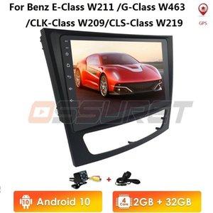 2G + 32G Android10 2DIN 9 ''1080P 자동차 라디오 플레이어 GPS를 들어 E 클래스 W211 E200 E220 E300 E350 E240 CLS 클래스 W209 W219 자동차 DVD