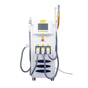 Multifunción 4 en 1 vertical de 360Magneto-óptico + pico + máquina q interruptor de láser tatuaje eliminación quita la máquina picolaser belleza RF máquina