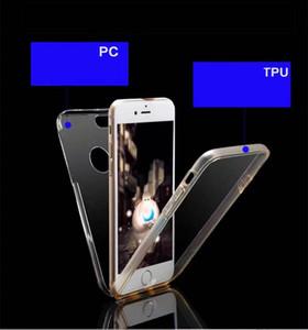كريستال مزدوجة من جانب والقضية لسامسونج غالاكسي A71 A51 A11 5G A21S A41 M31 A31 A01 M30S 360 درجة كاملة تغطية الجسم الصلب PC + غطاء TPU 2IN1