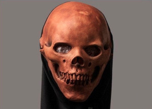Party Skull Style Halloween Horror Clown Mask Latex Fancy Party Scary Movie Full Head Mask Free Shipping Masquerade Masks For Men