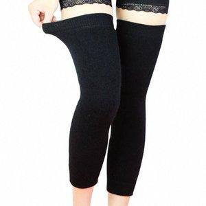 Wholesale- Kaschmir Warm Kneepad Wolle Baumwolle Latex Thema Kniebandage 1 Paar Männer und Frauen Radfahren Lengthen Prevent Arthritis Knee Pa VNt5 #
