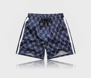 FF 19ss European hot retro casual shorts beach sweat pants for mens trousers imported metal nylon comfortable street lovers thigh pants