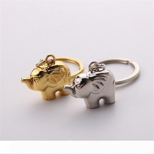 free shipping lovely zinc alloy elephant keychain Indian wedding baby showers party favors and door gifts for guest wen5820