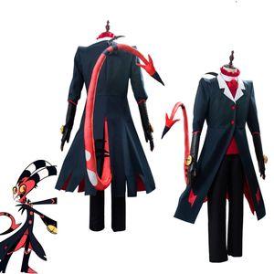 Anime Hazbin Hotel cosplay ALASTOR 2P Cosplay traje de Halloween