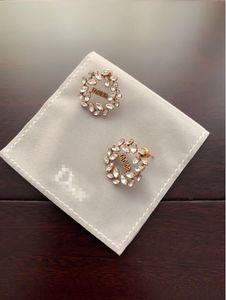 2020 New women Earring with Box Exquisite design Diamond Earring high quality fashion popular beautiful free shipping 062419