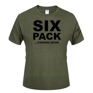 SIX PACK القادمة عارضة الأزياء SOON كم قصير تي شيرت الرجال مطبوعة القطن الأعلى تيز ملابس الصيف الرقمية الرجال التي شيرت الألوان