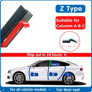ar Wash & Maintenance Fillers, Adhesives & Sealants Z Type Car Door Seal Noise Insulation Weatherstrip Sealing Rubber Strip Trim ...