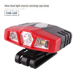 Dixi technologie DX-1811 à double source de lumière infrarouge induction Dixi technologie lampe chapeau appât de pêche lampe chapeau nuit DX-1811