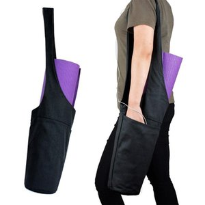Adjustable Yoga Gym Bag Fits Most Size Yoga Mats Large Storage Wide Sling Carrier with Strap Gift