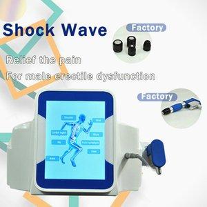 Professionale Protable pneumatico Shock Wave fisioterapia Attrezzature terapia dell'onda Shockwave Per Pesare Loss Pain Relief macchina