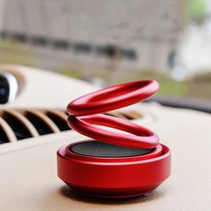 Аксессуары Магнитный сплав освежитель воздуха салона Подвеска Двойное кольцо Perfume солнечный автомобиль Fragrance Вращающийся HXO1 #