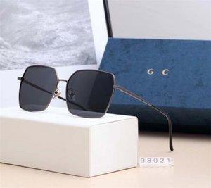 2020 Luxury Design 6 цветов в винтажном стиле Пара бокалов Quare солнцезащитные очки Поляризационные очки с пакет коробки голодает перевозка груза 98021