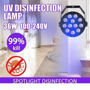 253.7nm 36W UVC désinfection lampe Accueil Salon LED UV ultraviolets germicides stérilisation lumières Mite purifiant stérilisateur