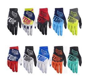 2020 FOX montar en bicicleta de montaña en bicicleta guantes país cuesta abajo transversales largo dedo de la motocicleta de carreras los guantes llenos