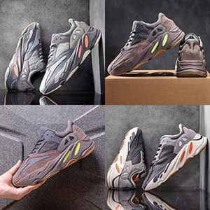 Kid menino do futebol Botas Preto Baby Boy Run sapatilha 2020 Outono-Inverno Gym Kanye West 700 Kanye West 700 Shoes Crianças Menina Boutique Kany # 962