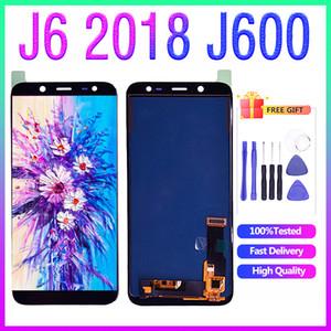 Para Samsung J6 2018 LCD J600 J600F SM-J600F Display LCD com tela de toque digitador painel de vidro Assembléia