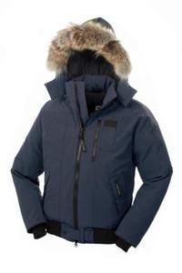xiyangyang Canada Winter Men Homme Borden Jassen Chaquetas Parka Outerwear Big Fur Hooded Fourrure Manteau Down Jacket Coat Hiver Doudoune