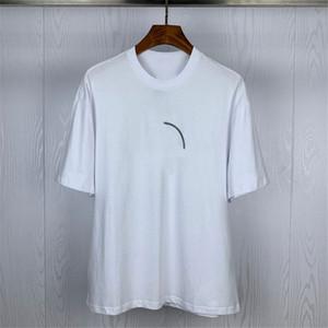 Mens Street Fashion camiseta Luminous Badges Polos mangas curtas Tennis camisetas homens e mulheres casais do estilista de alta qualidade Jersey Tee