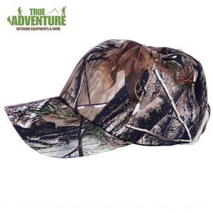 Outdoor bionic camouflage Fisherman baseball baseball cap sunscreen fisherman cap hunting tactics camouflage capfan accessories