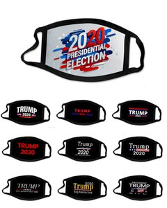 2020 USA Election Biden Maske Anti-Staub-Verschmutzung Waschbar Wiederverwendbare Breath Cosplay Fashion Party Masken Erwachsene Kinder Trump Cotton Mask