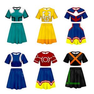 Boku No Hero Halloween My Hero Academia Cosplay Costume Anime 3D Print Girl School Uniform Carnival URARAKA OCHACO Gym Suit