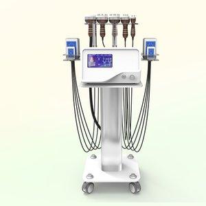 Vakum RF zayıflama kafaları yağ azaltma yüz kaldırma ile 650nm 940nm lipo lazer yastıkları kavitasyon makinesi