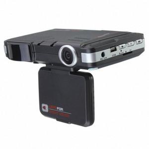 2 em 1 multifunções Car DVR Gravador de 5 MP Radar Speed Detector Trafic Veículo Alerta Laser Detector GxEm #