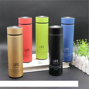 17oz 500ml Skinny Tumbler Stainless Steel Vacuum Insulated Water Bottle Travel Coffee Mug Tea Cup Straight Cup Gift Customizable DBC VT1176