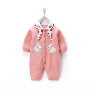 EZ6xR Straight knitted Clothing cotton long-sleeved climbing Straight knitted jacket Clothing wool Jacket woolbaby cotton long-sleeved wool