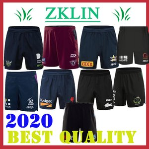 Melbourne NRL Rugby League Maillots 2020 tempête QLD Maroons Brisbane Broncos Coqs Rabbitohs Guerriers Titans maoris NSW Blues Shorts