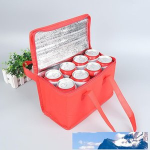 Nonwoven Cooler Packing Lunch Pack Insulated Thermal Food Container Bags Ice Can Dry Bag Delivery Portable Mhcmb