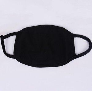 Protettivo Black Mask antipolvere Inquinamento unisex Viso Bocca Maschera riutilizzabile lavabile in cotone per il lavoro domestico di fumo in bicicletta Campeggio da sci