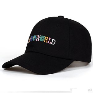 New Arrival 100% Cotton ASTROWORLD Baseball Caps Travis Scott Unisex Astroworld Dad Hat Cap High Quality Embroidery