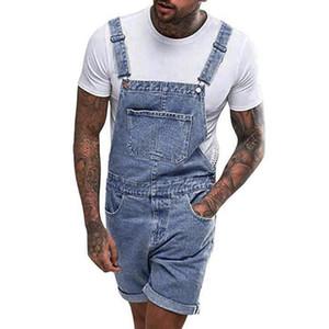 En general Womail pantalones vaqueros rectos ocasionales de los pantalones vaqueros de los hombres bolsillos general Streetwear plisado rectas de peso medio pantalones Dropship May28