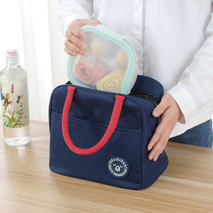 Ready to stock refrigerated bag box portable thermos hot food picnic bag women and children a variety of patterns to choose from