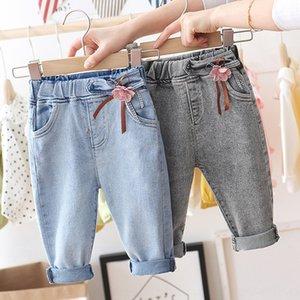 2020 nuovo stile coreano dei jeans casuali dei bambini di stile e jeans delle ragazze occidentali pantaloni casual wear lMfXJ ragazze dei bambini capispalla tendenza pantaloni