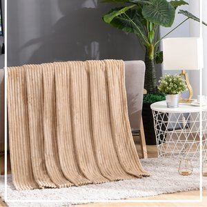 2020 New hot style Coral Wool blanket summer air conditioning blanket office blanket nap towel available all seasons