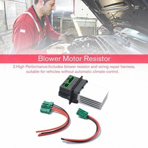Radiateur soufflant Resistor fil de fiche 6441.L2 6441L2 7701048390 7701207718 Pour Citroen C5 / C3 / C2 Pour Peugeot 207 / 207CC / 607/1007 HiyM #