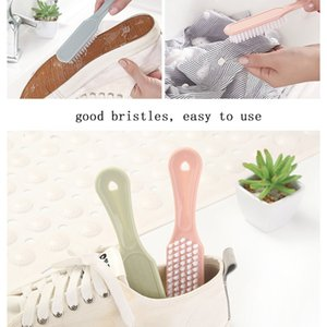 Plastic Shoe Nordic Color Soft Hair Cleaning Brush Decontamination Laundry Small Simple Shoe Brush